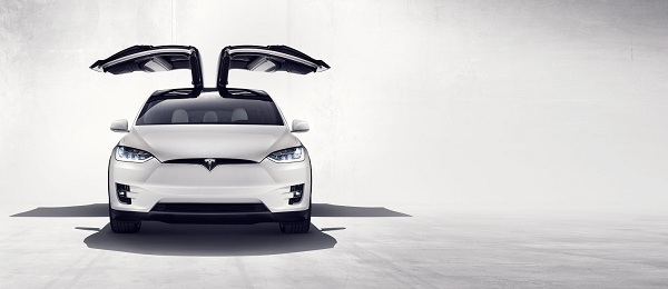 Exterior Design of the Tesla Model X SUV