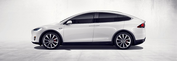 The Exterior Design of the Tesla Model X SUV
