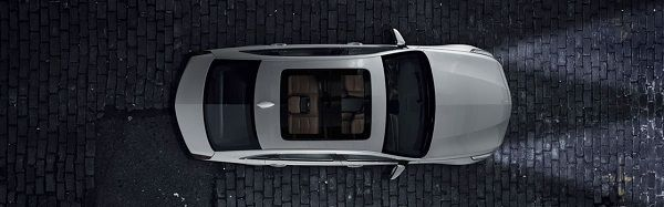 Sunroof of 2017 Cadillac CT6