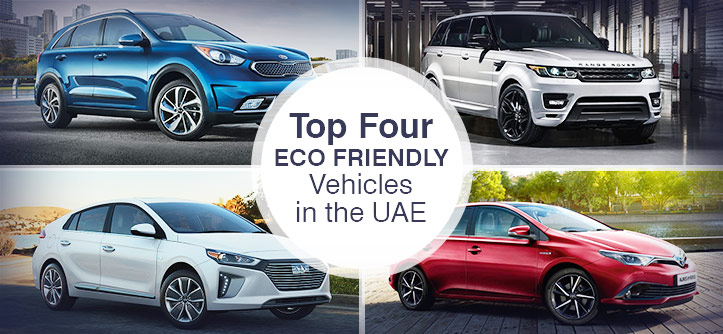 Top Four Eco Friendly Vehicles in the UAE
