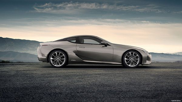 Design of Hybrid Cars - 2018 Lexus LC 500h