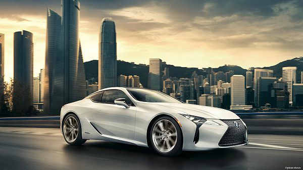 Powertrain of 2018 Lexus LC 500h