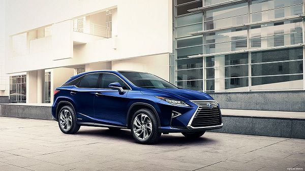 Exterior of the 2018 Lexus RX 450h