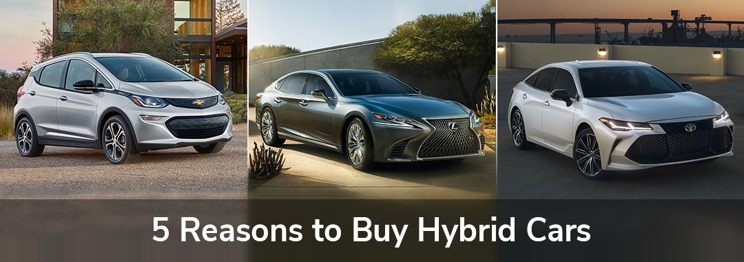 5 Reasons to Buy Hybrid Cars