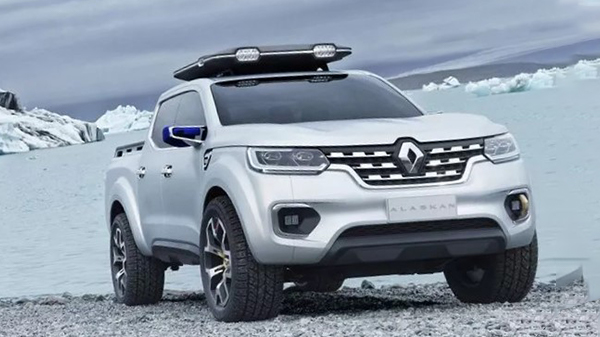 Design of the Renault ALASKAN Concept