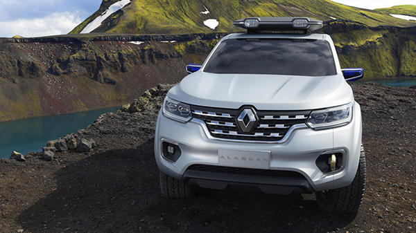 Exterior of the Renault ALASKAN Concept