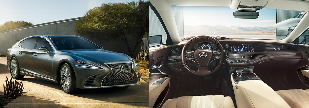 Best Luxury Hybrid Cars - 2020 Lexus LS500h with a V6 Hybrid Electric Engine