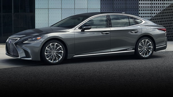 Design of the 2020 Lexus LS500h