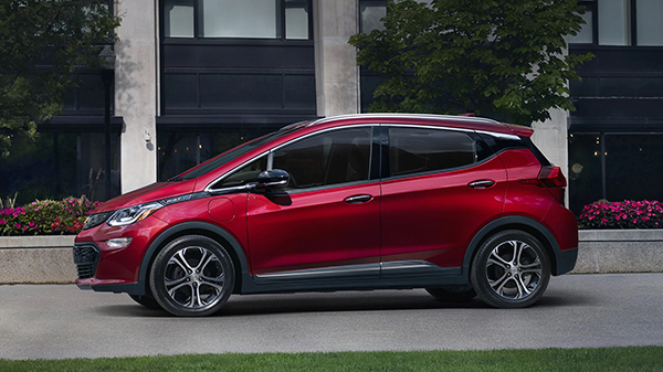 Design of 2020 Chevrolet Bolt EV