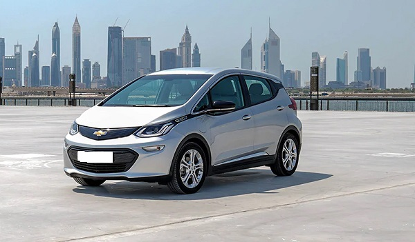 Exterior of 2020 Chevrolet Bolt EV