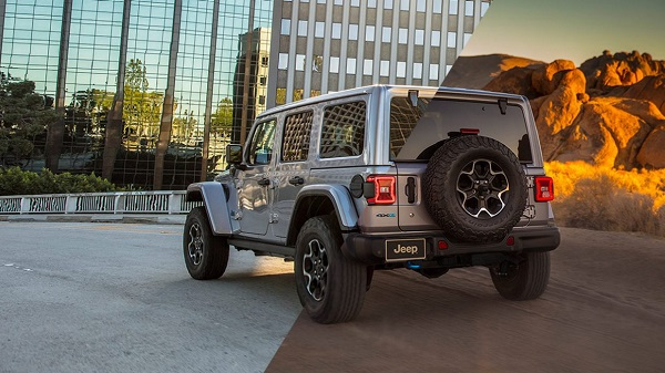 Price of the 2021 Jeep Wrangler 4xe in the UAE