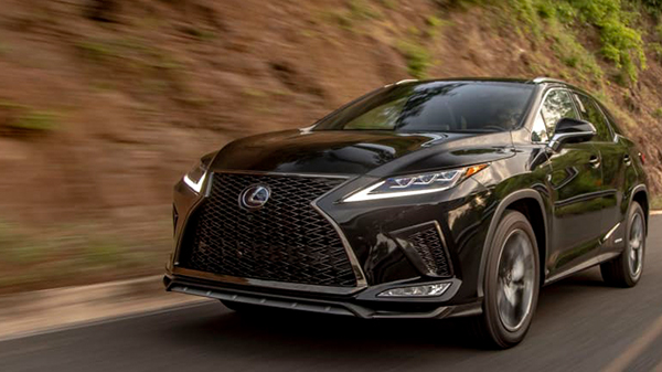 Performance of the 2021 Lexus RX 450h
