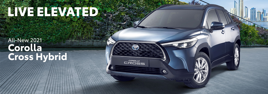 2021 Toyota Corolla Cross Hybrid – Compact SUV with Advanced Safety Technologies
