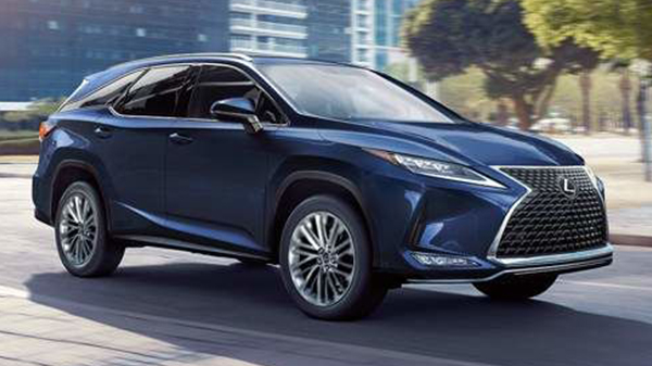Performance of the 2021 Lexus RX 450hL